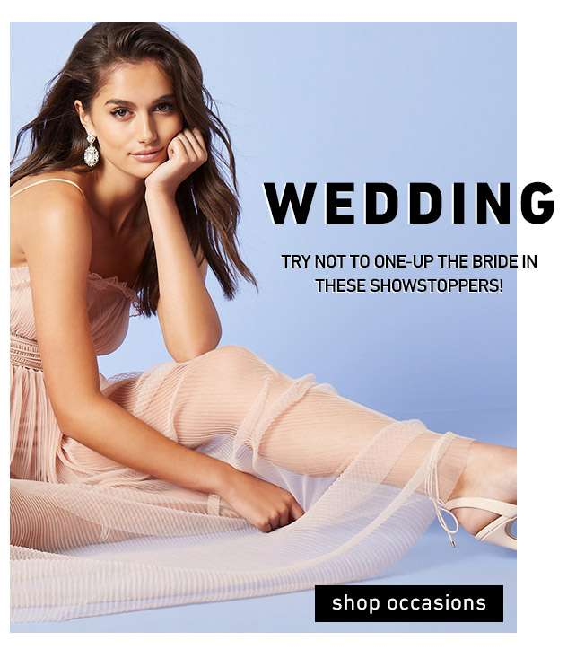 Wedding   Try not to one-up the bride in these showstoppers