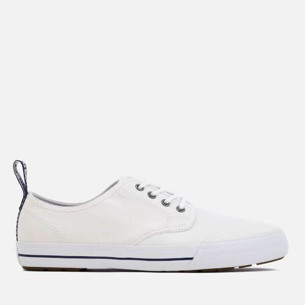 Dr. Martens Men's Pressler Canvas Lace Shoes - White