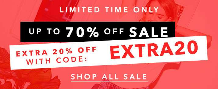 Sale Now Up To 70% Off - Shop All Sale