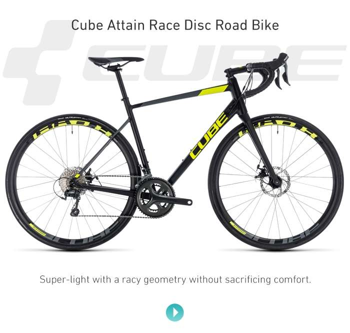 Cube Attain Race Disc Road Bike