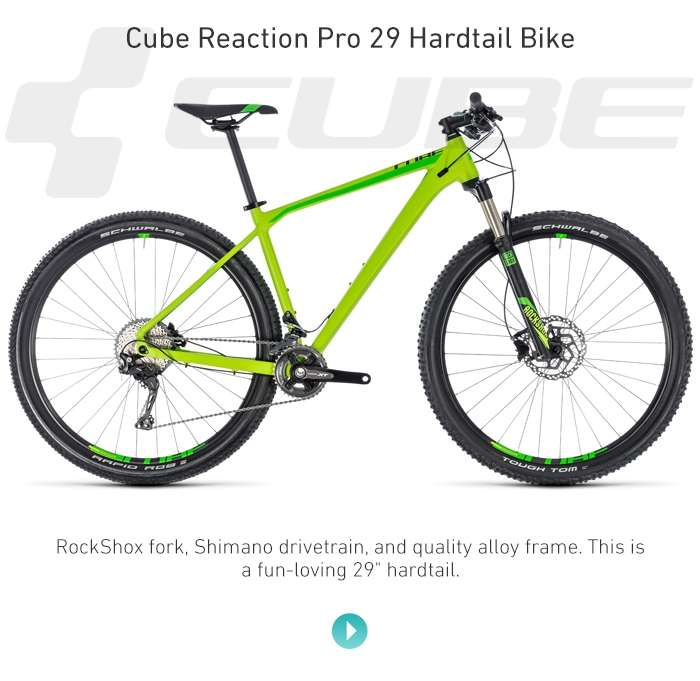 Cube Reaction Pro 29 Hardtail Bike