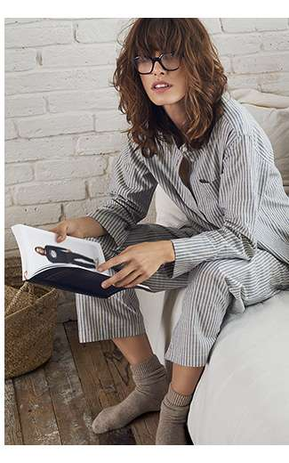 Women's 2018 Spring/Summer Ines De La Fressange Collection, Pajamas Debut!