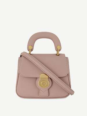 BURBERRY                                                          DK88 Trench leather mini cross-body bag