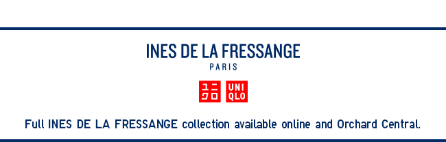 New launch! 2018 Spring/Summer Ines De La Fressange Collection now available!