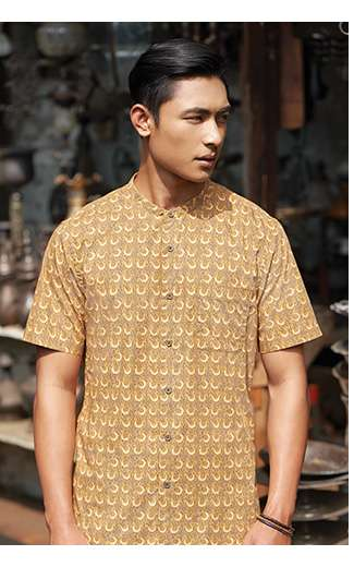 Men's 2018 Spring/Summer Batik Motif Collection