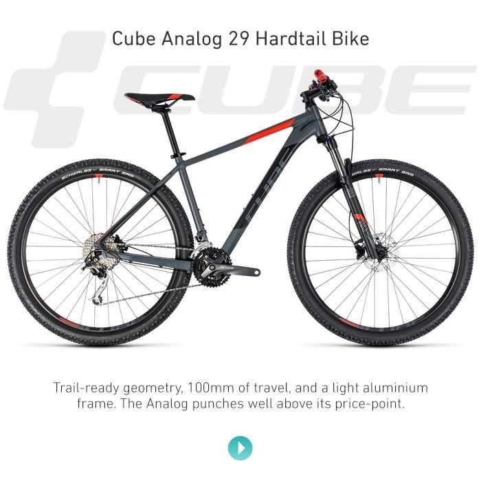 Cube Analog 29 Hardtail Bike