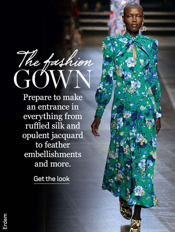 THE FASHION GOWN