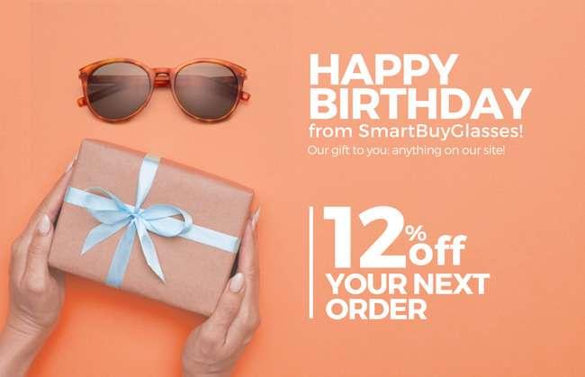 Happy birthday from SmartBuyGlasses!