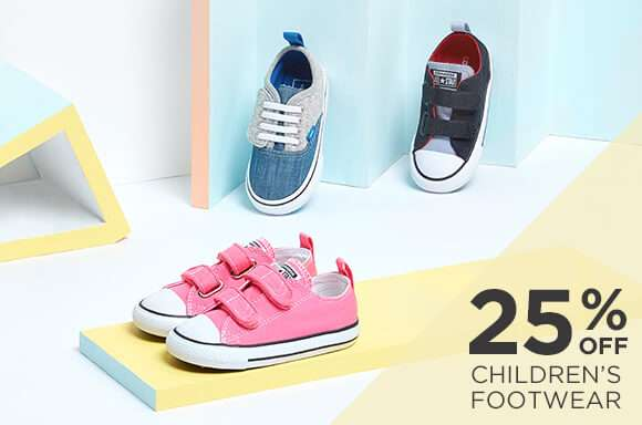 25% off Children's Footwear