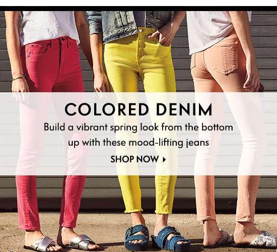 Colored Denim