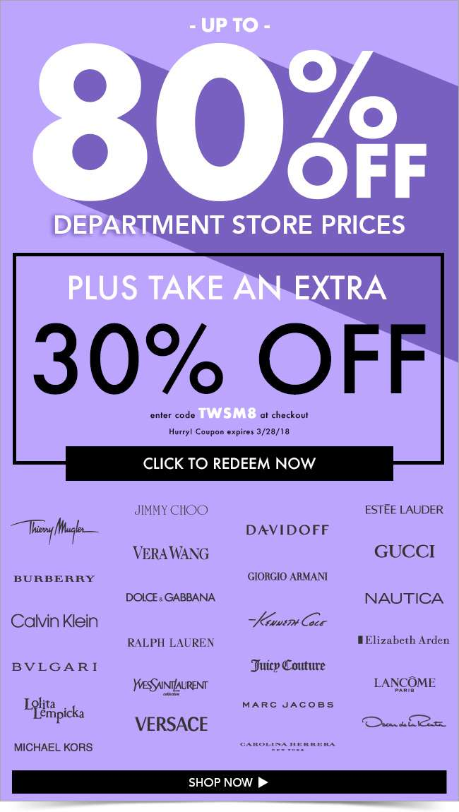 We've UPPED your offer! Now take an extra 30% off all clearance!