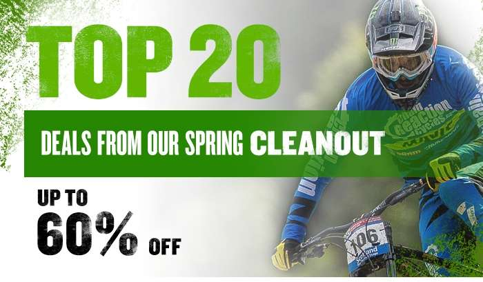 Top 20 Deals from our Spring Cleanout Up to 60% Off