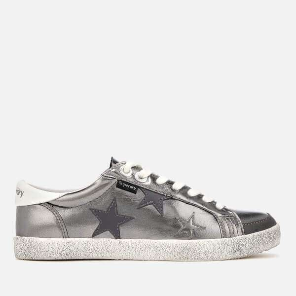 Superdry Women's Super Sleek Logo Low Top Trainers