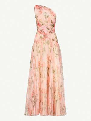 ALEXANDER MCQUEEN  																One shoulder gown