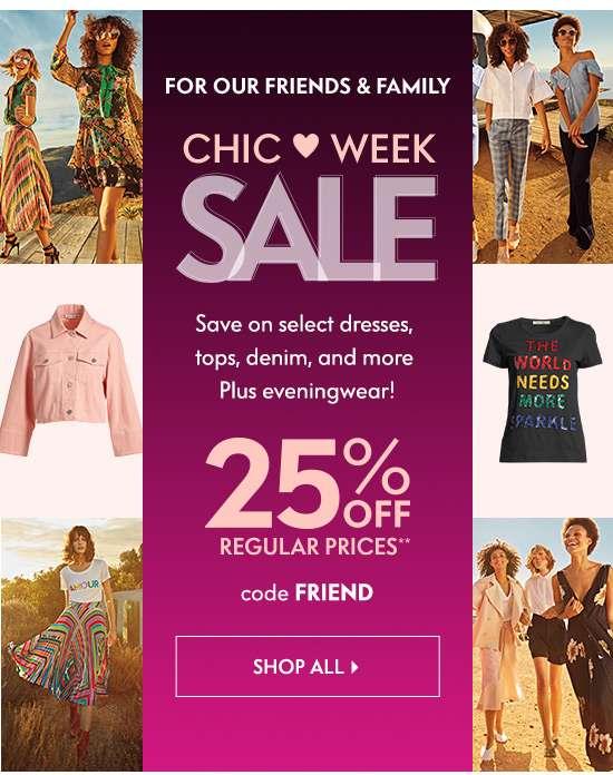 Chic Week Sale