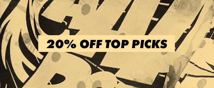 20% off our top picks