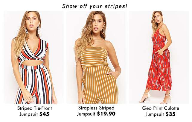 Show off your stripes!