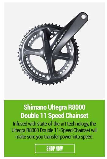Shimano Ultegra R8000 Double 11-Speed Chainset