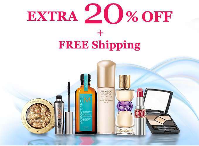 Get Extra 20% Off + Free Int'l Shipping! Offer ends 2 Apr 2018.