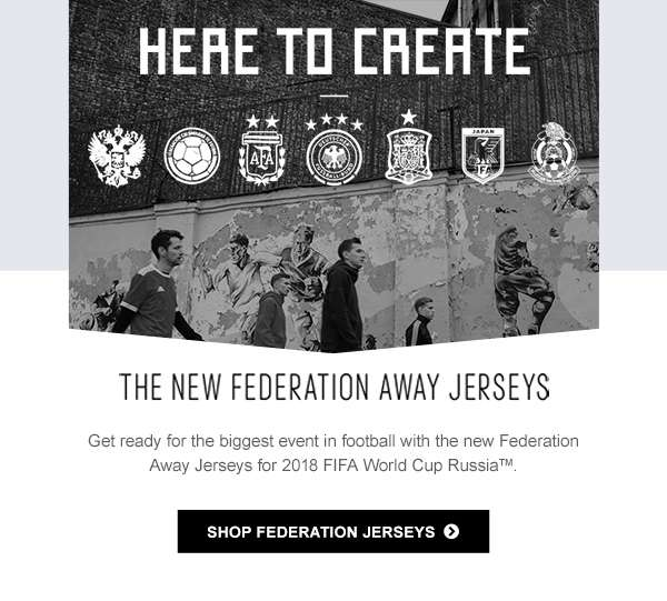 SHOP FEDERATION JERSEYS