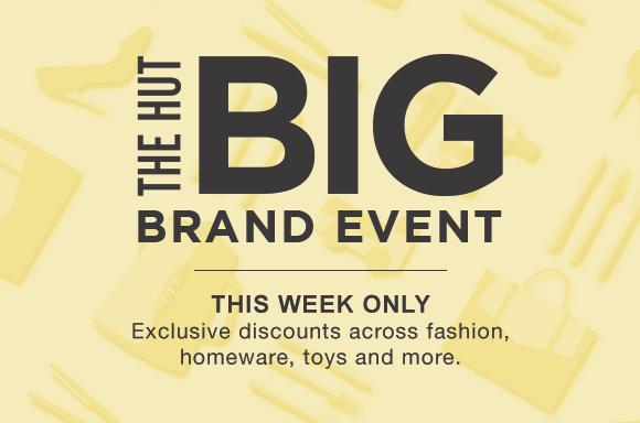 The Hut Big Brand Event
