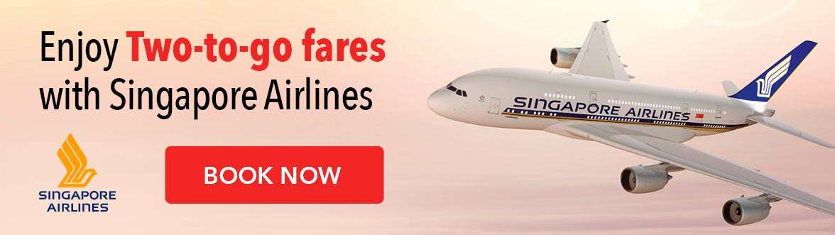 The latest Two-to-go flight offers from Singapore Airlines has landed!