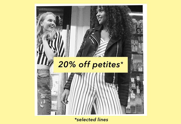 20% Off Petites - Shop Petites