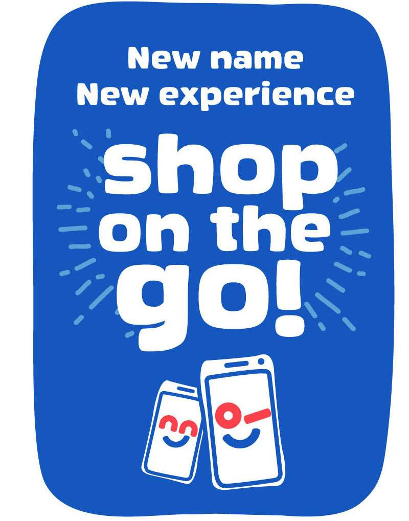 Shop on the go!