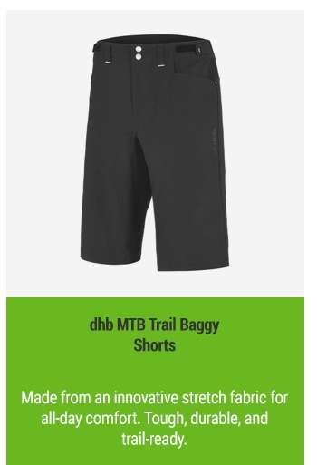 dhb MTB Trail Baggy Shorts