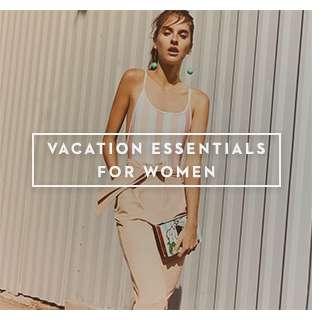Vacation Essentials For Women