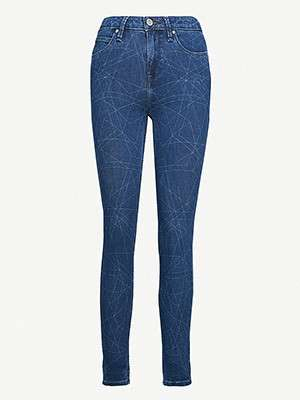 LEE                                                                          Scarlett skinny high-rise jeans