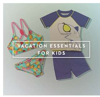 Vacation Essentials For Kids