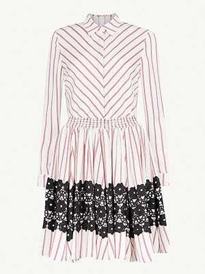 MAJE                                                                      Striped flared dress