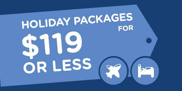 Thinking of a quick getaway?              We've listed these packages deal just for you!