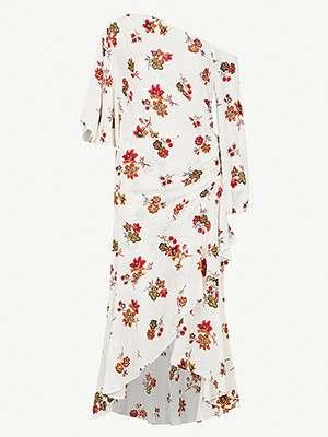 A.L.C                                                                                  Florence floral-print dress