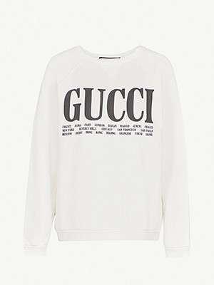 GUCCI                                                                                  Cities sweatshirt