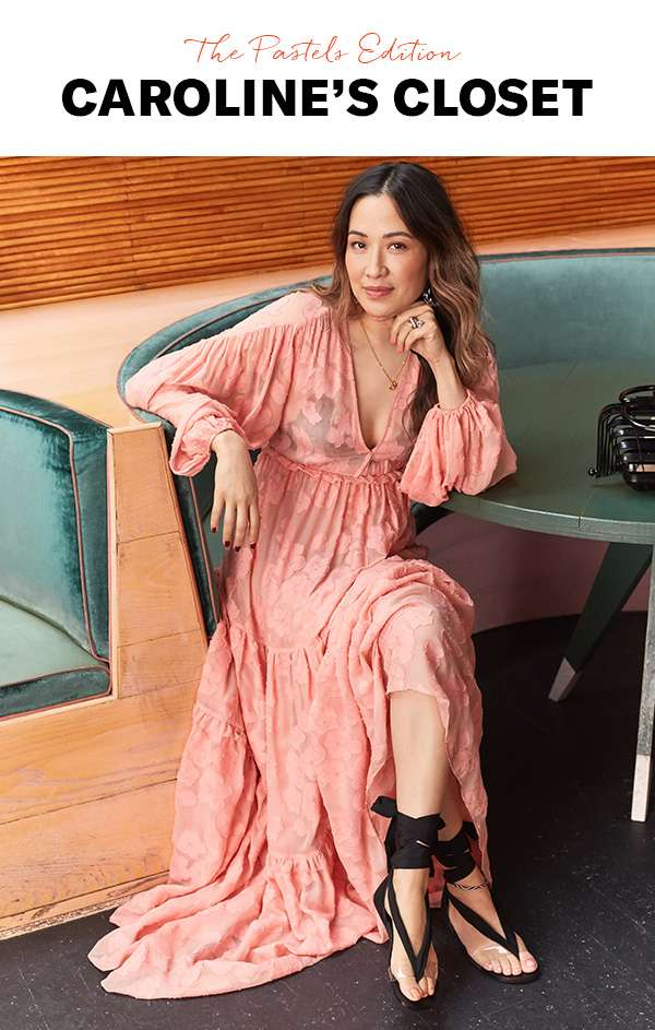 How Fashion Director Caroline Maguire is wearing this season's candy-colored palette.