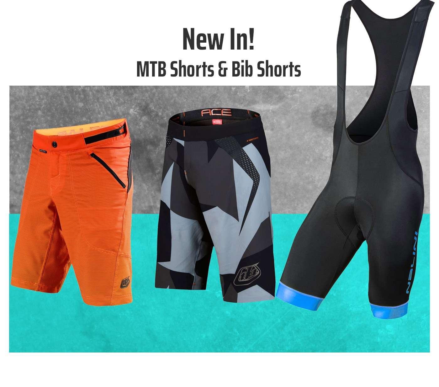 New In! MTB Shorts & Bib Shorts