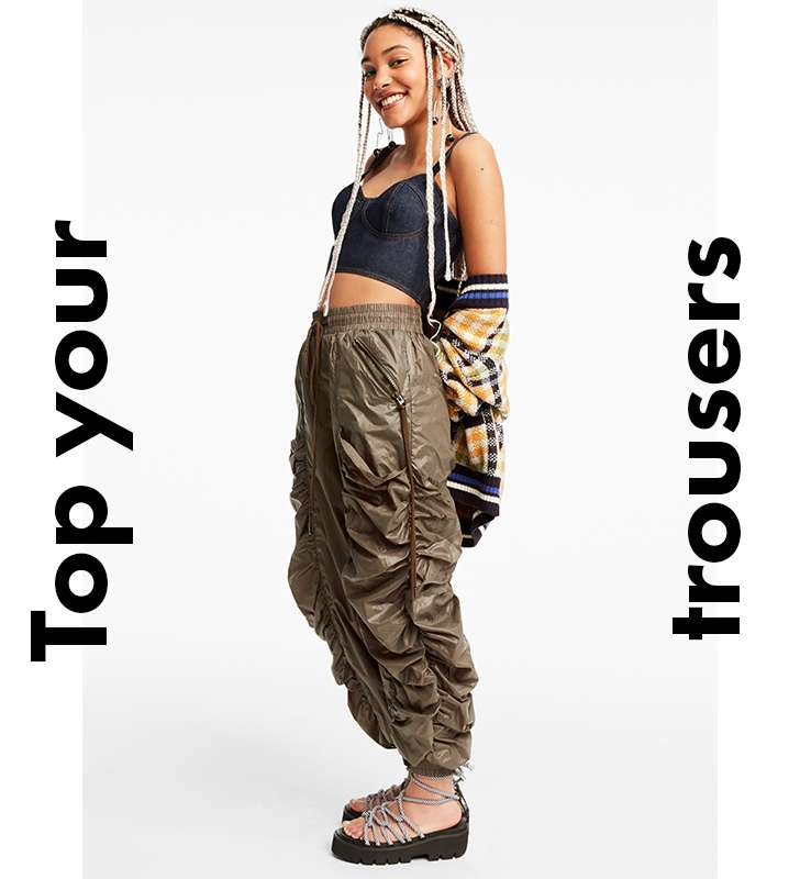 Top your trousers