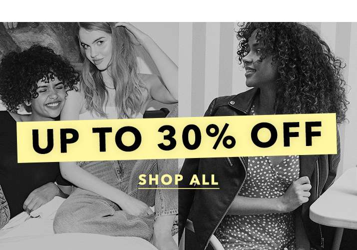Up To 30% Off - Shop All