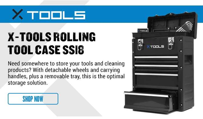 X-Tools Rolling Tool Case SS18