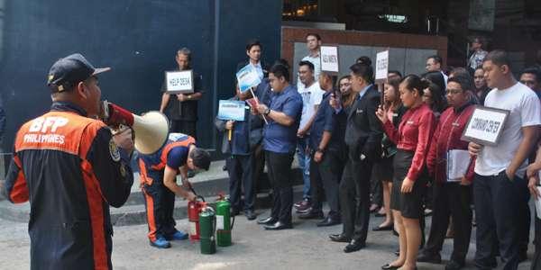 Annual Drill @ Berjaya Makati Hotel