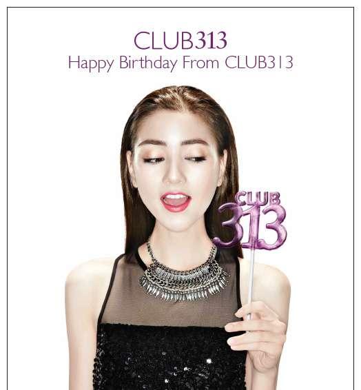Happy Birthday From CLUB313