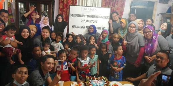 Spending Time with the children @ Rumah Perlindungan Nur Hati