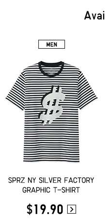 Shop Men's SPRZ NY Andy Warhol The Silver Factory T-shirt