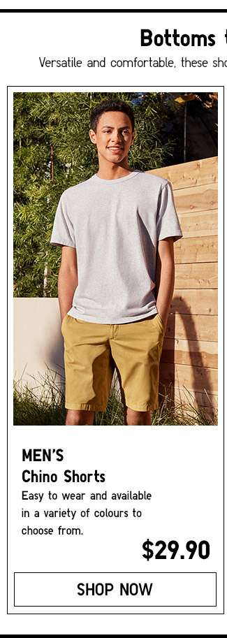 Shop Men's Chino Shorts