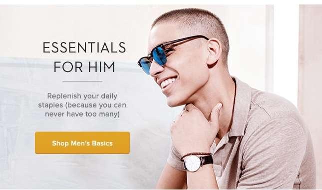 Shop Men's Basics