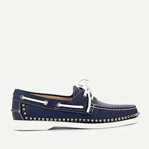 CHRISTIAN LOUBOUTIN - Steckel boat shoes