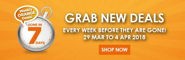 Weekly Orange Deals!