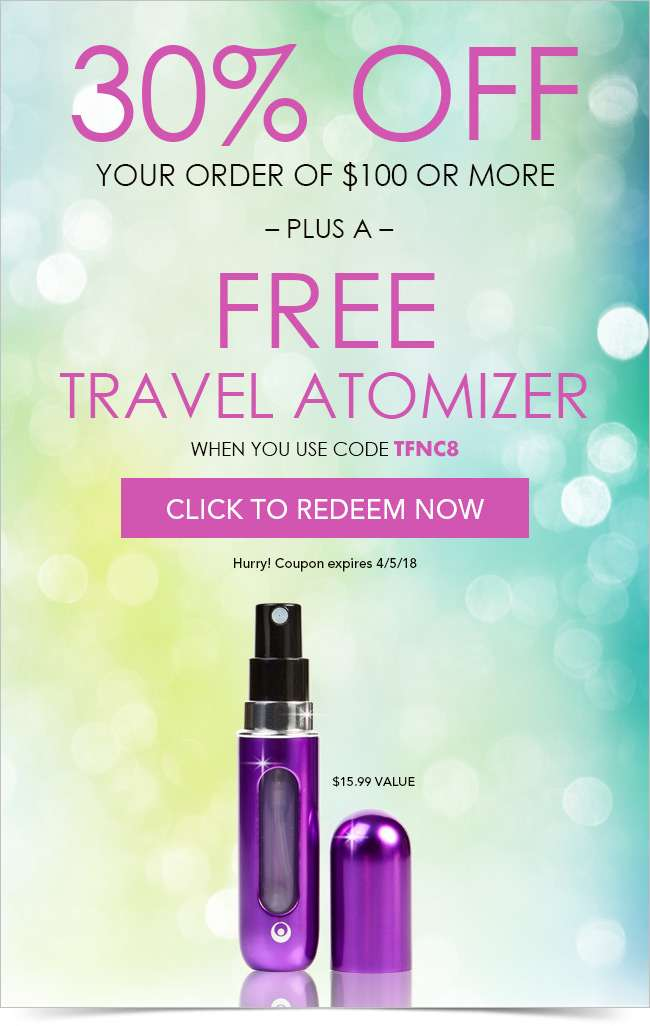 Up to 80% Off + Free Travel Atomizer